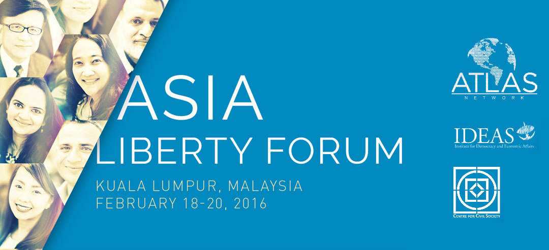 Asia Liberty Forum 2016 | Registrations Open | Register Now!
